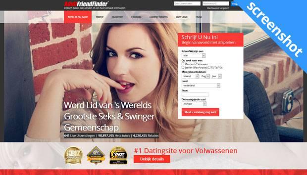 AdultFriendFinder screenshot