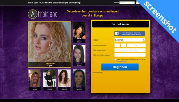 Affairland screenshot