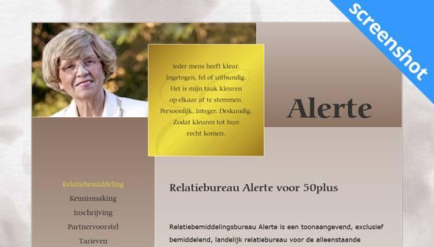 Alerte Relatiebemiddeling screenshot