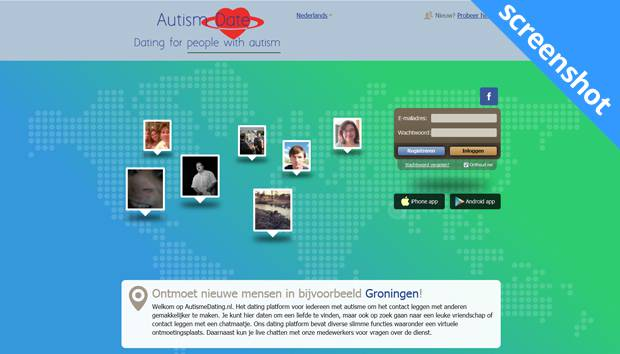 Autismdate.com screenshot