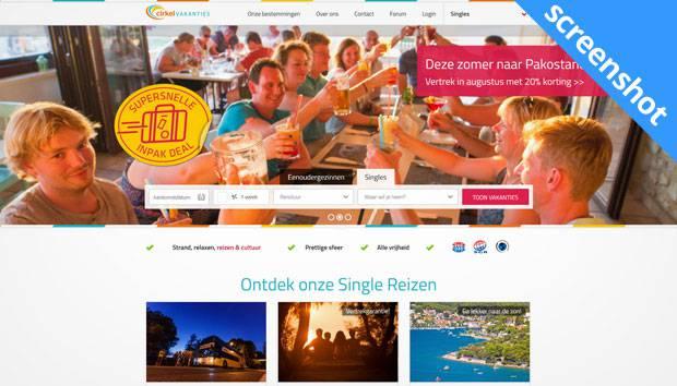 Cirkel Vakanties screenshot