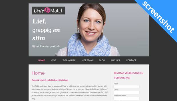 Date & Match screenshot