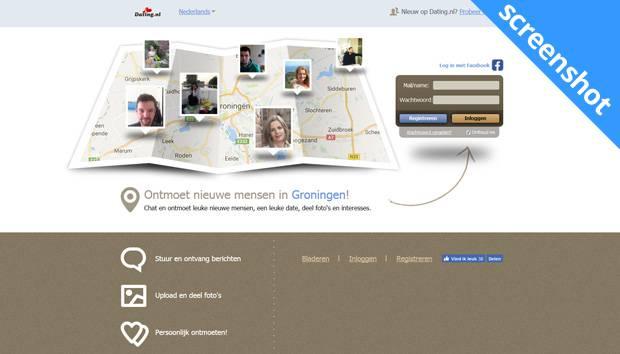Dating.nl screenshot