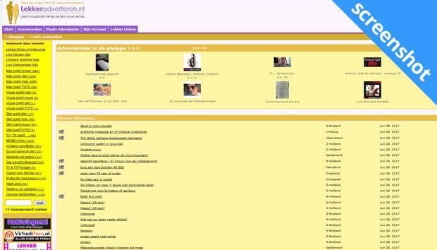 LekkerAdverteren.nl screenshot