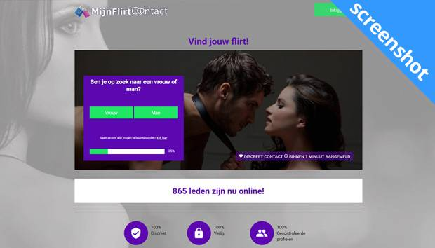 MijnFlirtContact screenshot