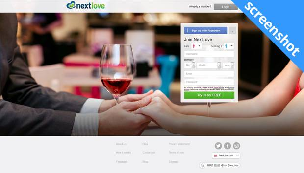 Nextlove screenshot
