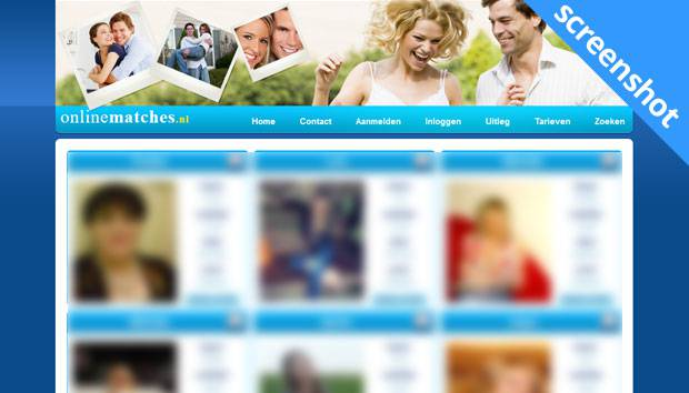 OnlineMatches.nl screenshot