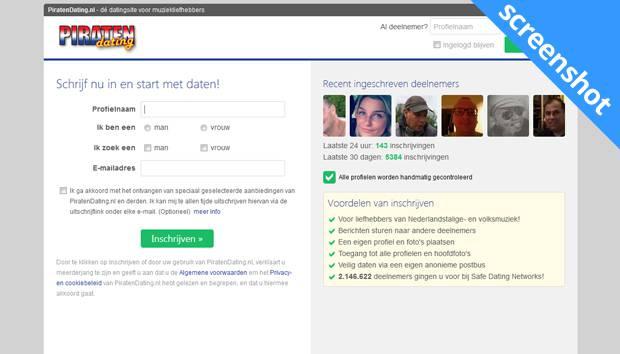 Piratendating screenshot