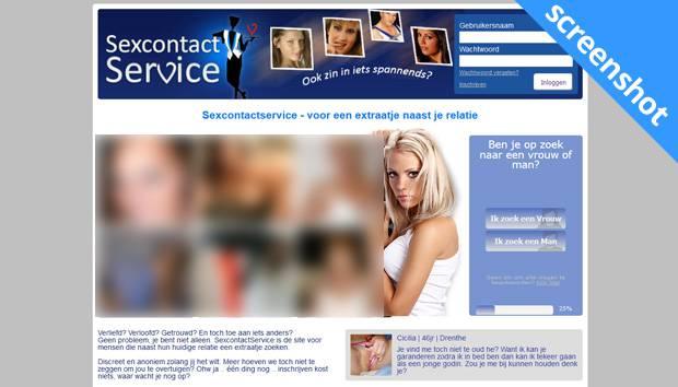 SexContact Service screenshot