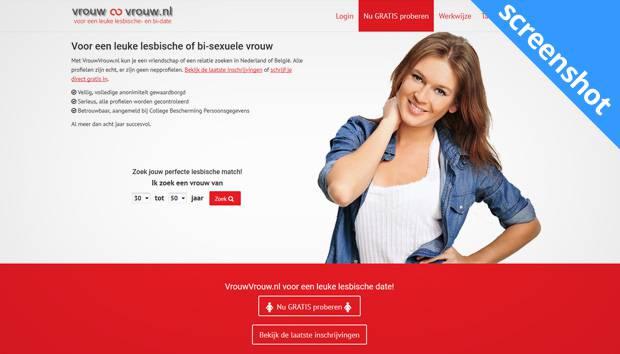 VrouwVrouw.nl screenshot