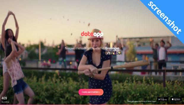 date app screenshot
