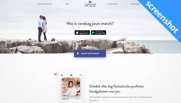 Once App screenshot