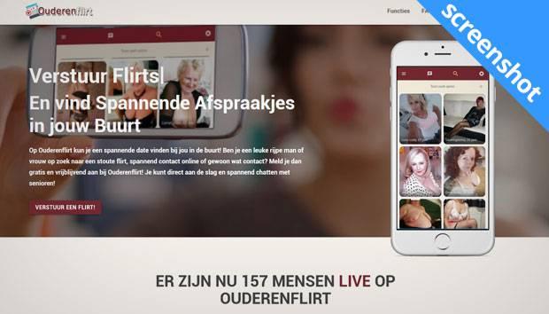 Ouderenflirt screenshot