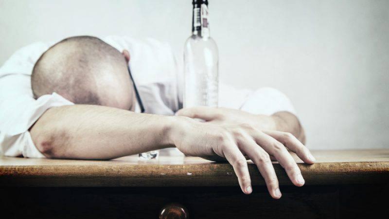 dronken ex geappt