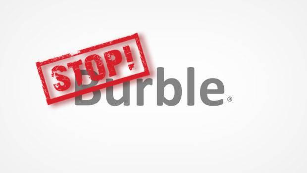 Burble opzeggen
