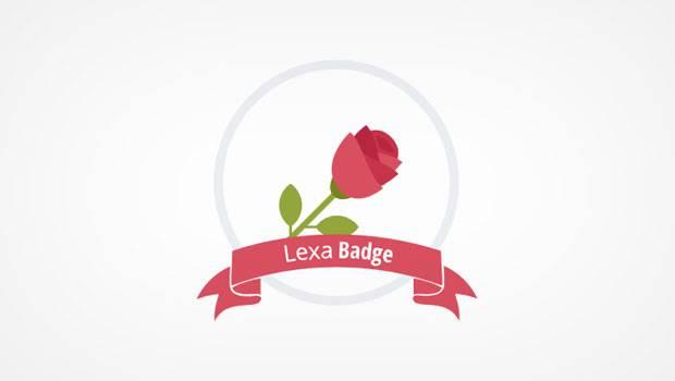 lexa badge