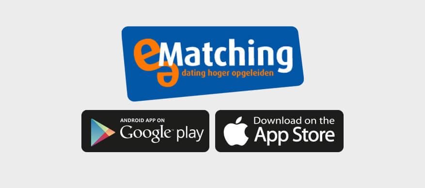 e-matching app logo