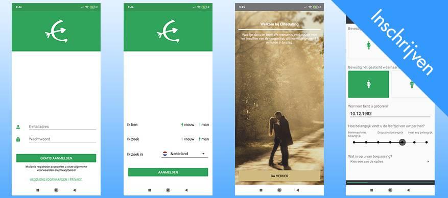 elitedating app inschrijven