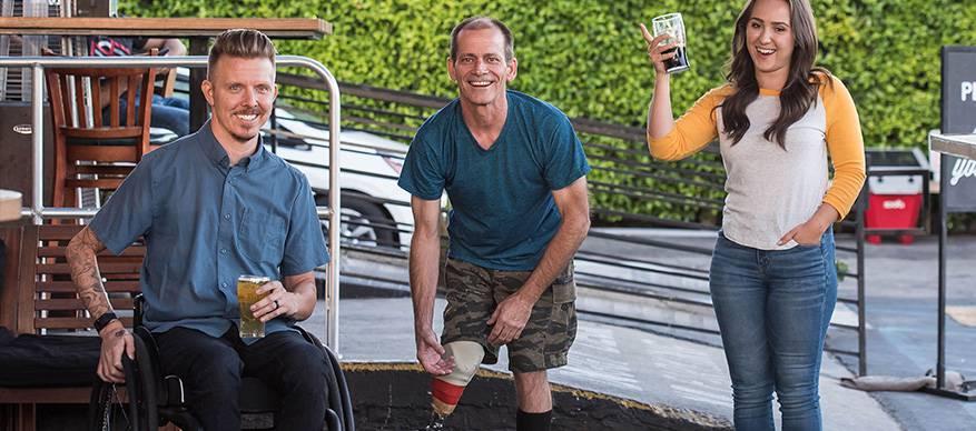 lichamelijk gehandicapten