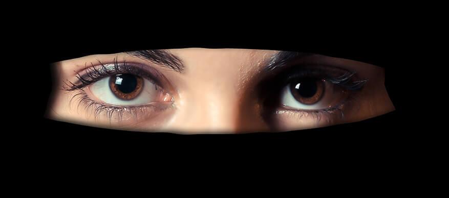moslima ogen
