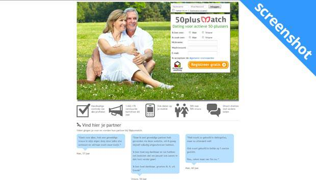 50 plus dating site nl