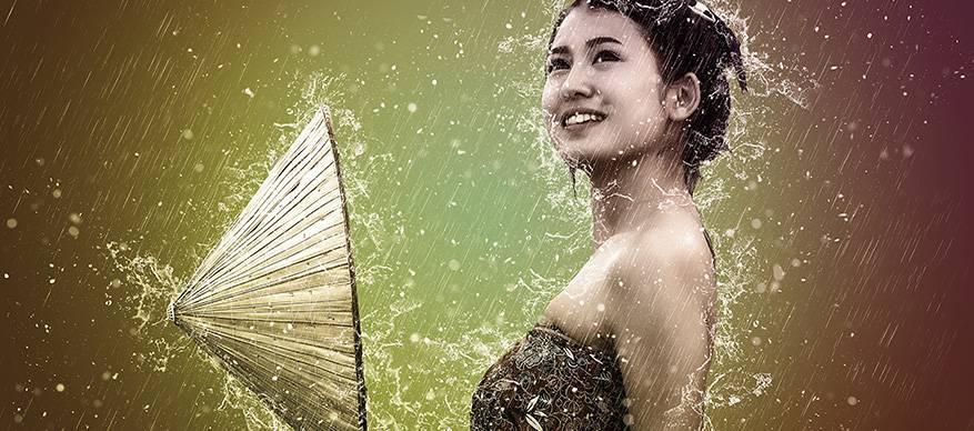 Maleisische vrouw