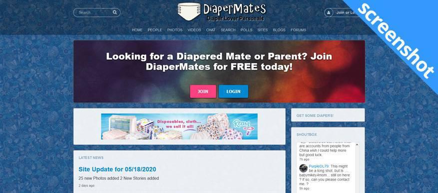 diapermates screenshot