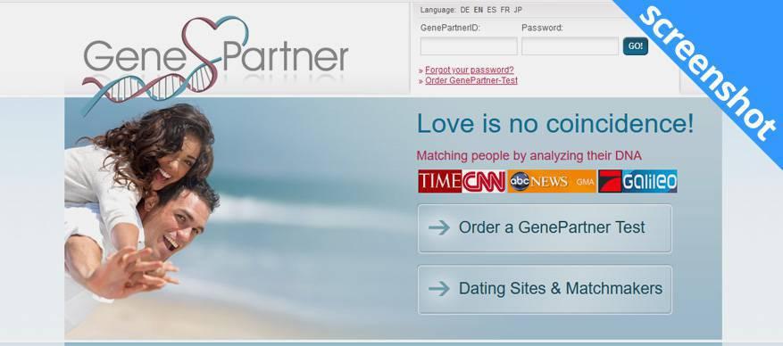 genepartner screenshot