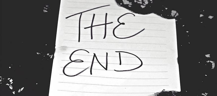 het einde