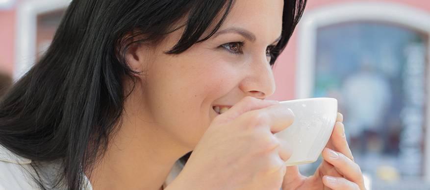 koffie drinken vriendin