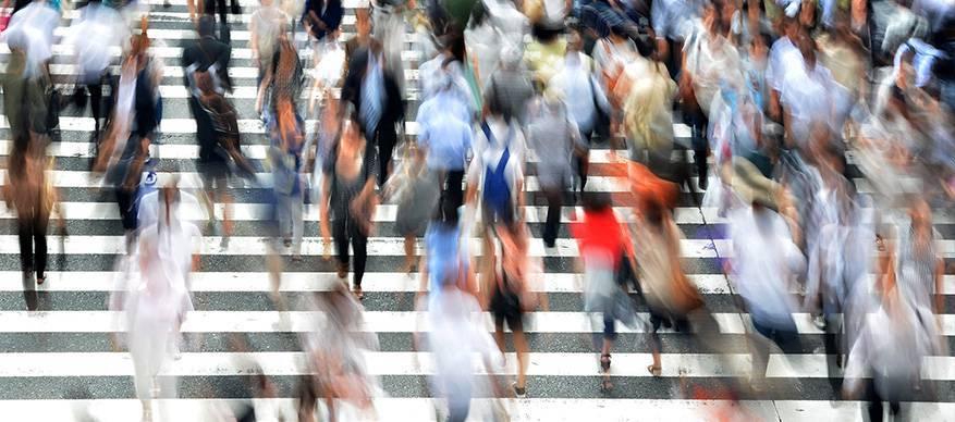 mensen straat