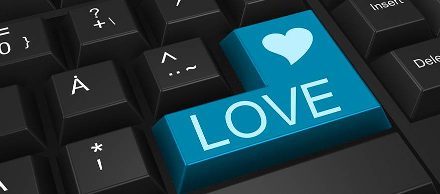 online dating keybord