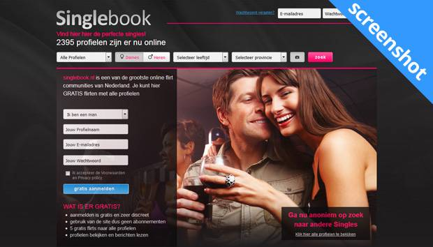 singlebook dating site Review your matches free at chemistrycom complete our famous personality test, created by dr helen fisher, and get matched with singles interested in finding a relationship through online dating and personals.