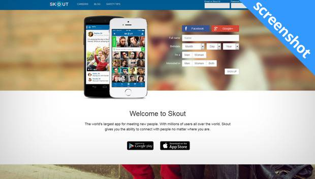 Skout dating Windows Mobile