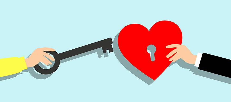 soulmate sleutel hart
