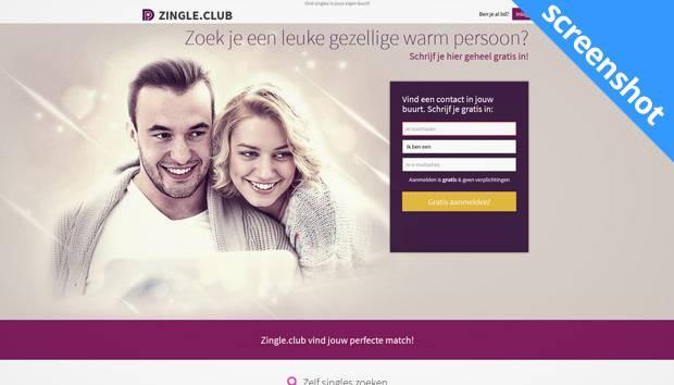 Zingle.club screenshot